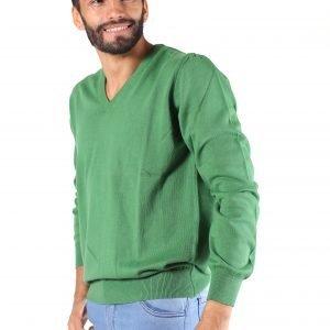 Sweater Algodón Escote V