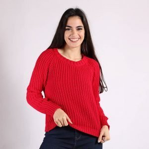 Sweater Basico Punto Ingles