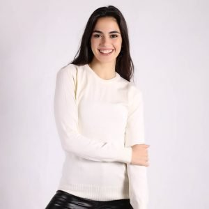 Sweater Basico Cuello Redondo Soft
