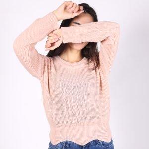 Sweater Corto Irregular